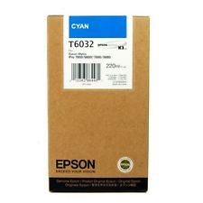 Epson Stylus Pro 4000/7600/9600 220ml Cyan ink cartridge C13T544200